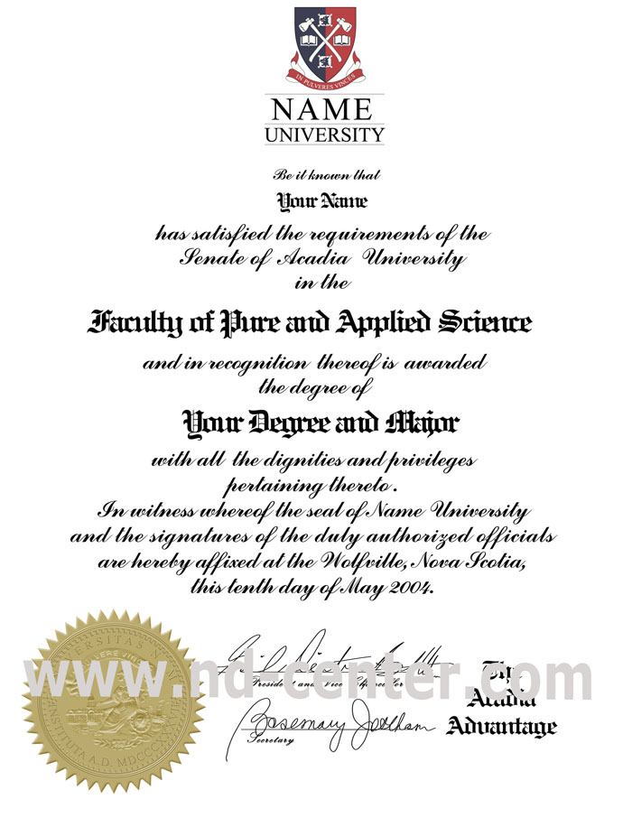 fake college diploma details