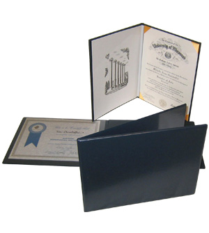 Colored Fake Diploma plain covers