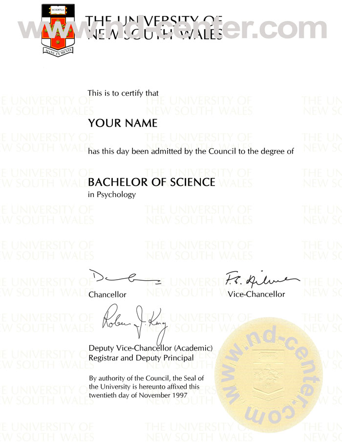 Quality fake diploma samples