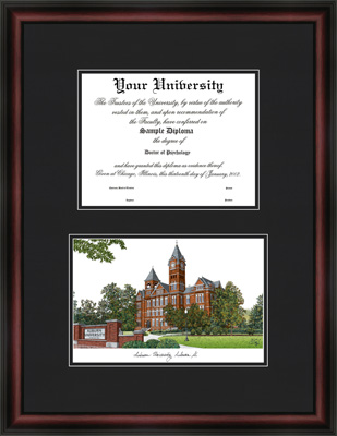 Fake Diploma Double Frames