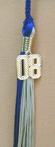 Fake Diploma Tassels with Charms