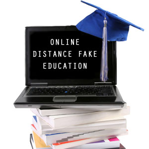 buy distance fake education