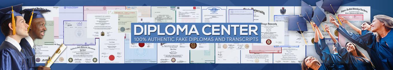 nd center fake diploma banner