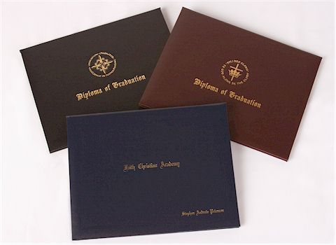 Quality Fake Diploma plain covers