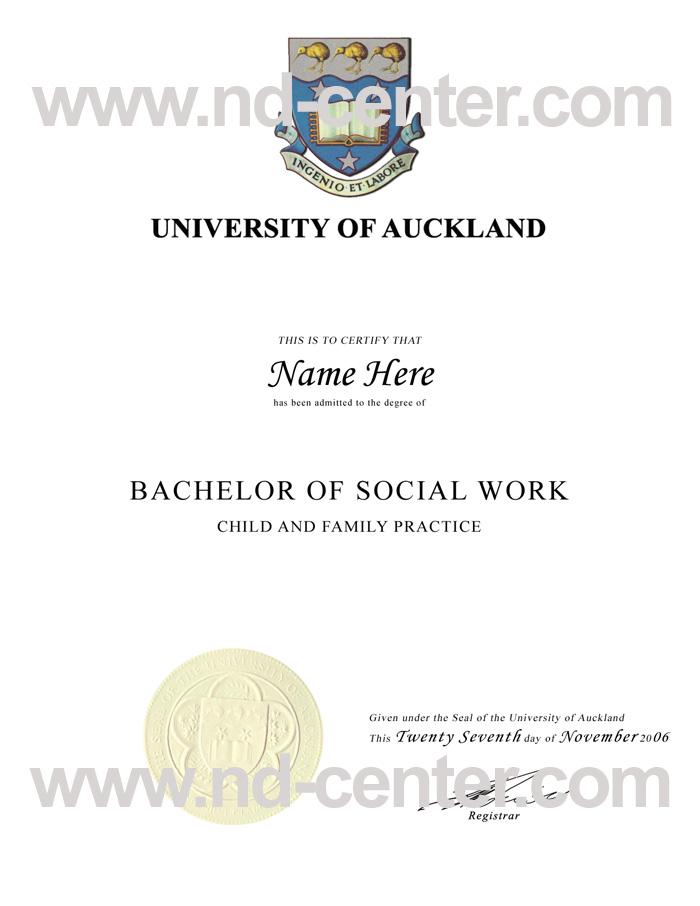 University Of Auckland Degree