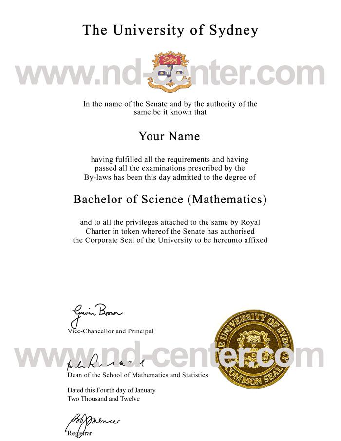 University Of Sydney Degree