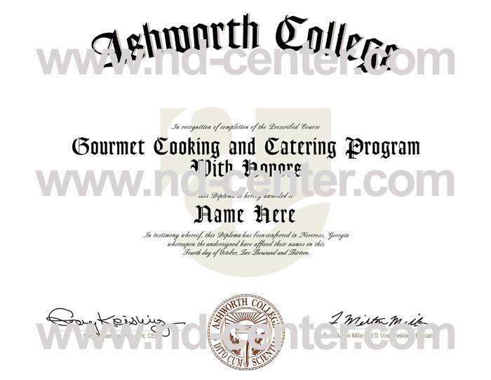 Ashworth College Diploma