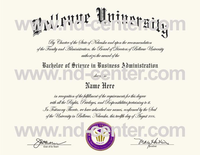Bellevue University Diploma