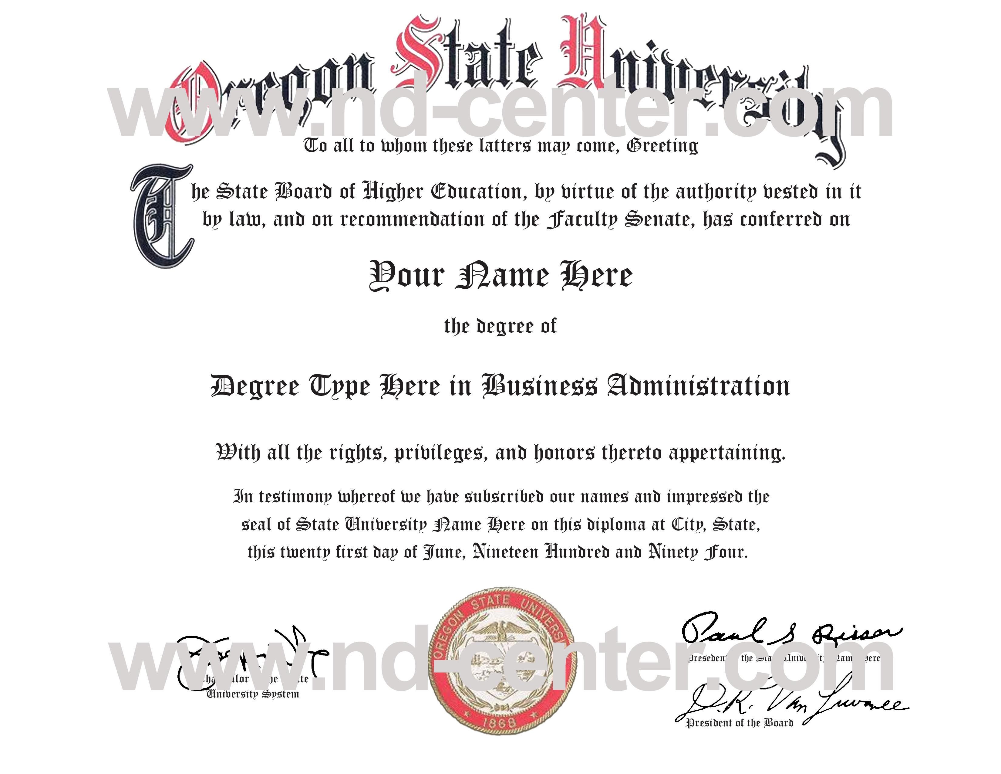 Bogus Fake College Degrees