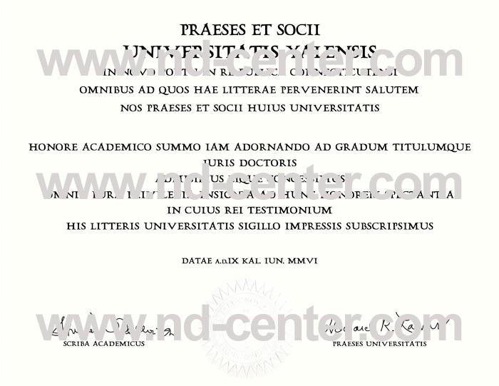 Yale University Diploma