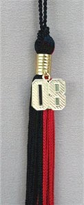 Two Color Fake Diploma Tassels
